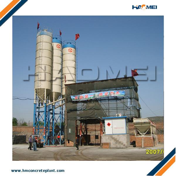 Batching Plant Foundation Design Haomei Machinery